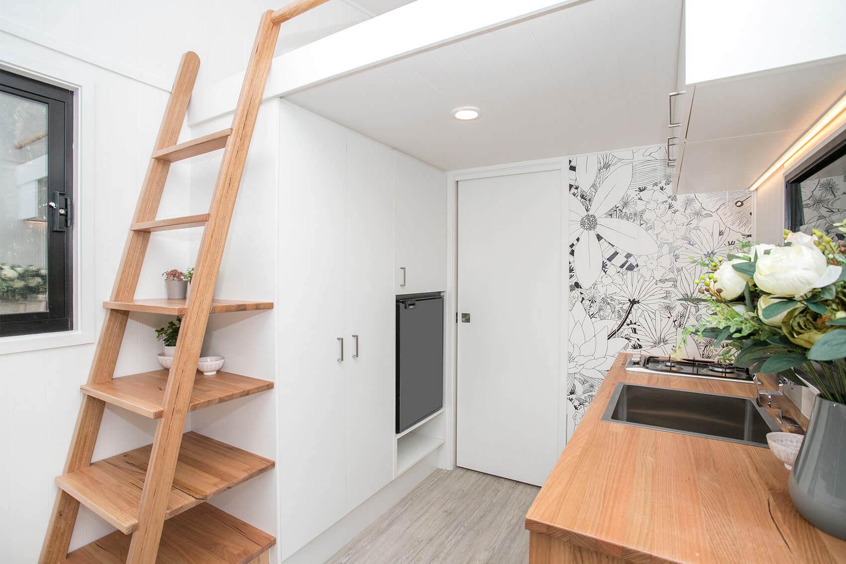 Inside of Tiny home